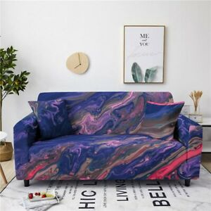 2 3 4 Seater Sofa Covers Stretch Striped Polyester Blend Polyester Slipcovers