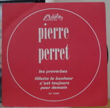 PIERRE PERRET LES PROVERBES RARE FRENCH SP ADELE AD 10 508