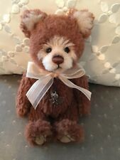 """Charlie Bears TOMMY TED 2019 Isabelle Mohair Collection 9"""" FREE US SHIP"""