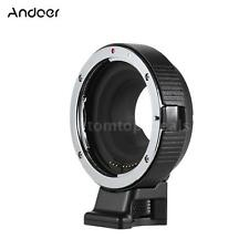 Auto Focus Lens Adapter Ring Mount Canon EF E-FS to Olympus Panasonic M4/3 G7D1
