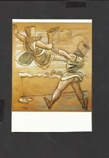 Art Postcard Figure-Skating by Max Beckmann Unposted