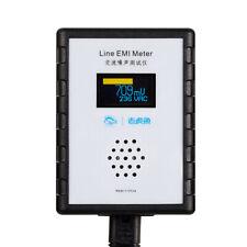 MINI OLED Digital AC Fonometro EMI Tester a banda larga ALIMENTAZIONE ca Analizzatore di ondulazione