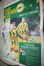programme SPORTmania )) FC NANTES V STRASBOURG )) Saison 1998/1999