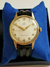 SERVICED Vintage Solar Prima by Rolex Tudor 21 jewels 14k Solid Gold Watch