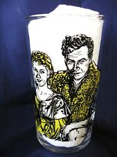 1962 CANADIAN HTF PEANUT BUTTER GLASS..THE ADVENTURES of  GUILLAUME TELL..No. 1.