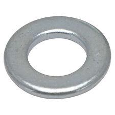 100 x M6 Washers Flat Steel BZP Vanco nuts bolts 11mm od 1.5mm Thick