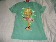 """A Christmas Story """" Fragile """" """" tee [ small ] New with tags [ 85 ]"""