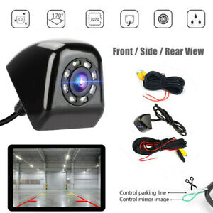 HD Car Reverse Camera Kit Front Side Rear View Backup Parking Night Vision Cam