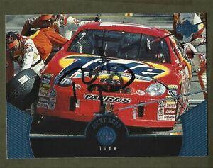 RICKY RUDD  - AUTOGRAPHED - 1999 Upper Deck - Card #47       [e24]