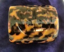 TORY Burch lucite resina Logo Polsino Bracciale Tartaruga