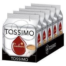 5 PAQUETES TASSIMO Suchard vainas de chocolate caliente cápsulas 80 T-Discs 80 porciones