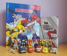 Nouveau Transformateur mon Occupé Livre + 12 personnage figures & Playmat