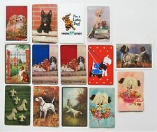 Lot of 14 Different Dog Swap Playing Cards - Good Selection