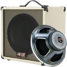 1x12 Guitar Speaker  Cab W/ 8 Ohms CELESTION G12P Seventy 80 Ivory White Tolex