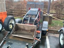 2015 Toro Dingo Tx427 Walk Behind Skid Steer with Trailer in Nj
