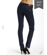 NWOT DL1961 Womens Nicky Mid Rise Cigarette Jeans Straight Richmond Dark 31x32