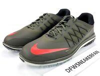 Nike Lunar Control Vapor Men's Size 13 Golf Shoes Olive Green 849971-300 New