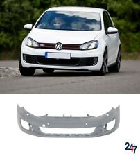 NEW VW GOLF GTI GTD MK6 2009-2011 FRONT BUMPER WITH WASHER AND PDC HOLES