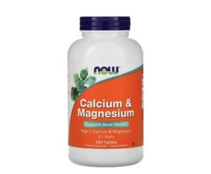 Halal Calcium & Magnesium 250 Vegan Tablets For Healthy Bone & More Made In USA