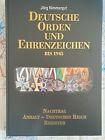 Nimmergut Deutsche Orden und Ehrenzeichen bis 1945 Band V Nachtrag 3 Reich 2. WK
