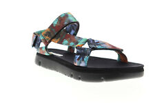 Camper Oruga K100451-001 Mens Blue Canvas Strap Sport Sandals Shoes
