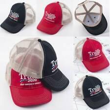 New Trump 2020 Hat Baseball Mesh MAGA Cap Keep America Great Embroidery ✔✘