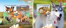 Dogs Pets Hunde Domestic Animals Fauna Maldives MNH stamp set