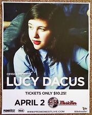 LUCY DACUS Gig 2017 POSTER Columbus Ohio Concert