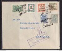 España 1937. Canarias. Carta de Las Palmas a Sevilla. Censura. Signed Florence.