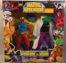 "Marvel Super Heroes 10"" Scarlet Spider-Man Vs The Lizard By Toy Biz (MISB)"