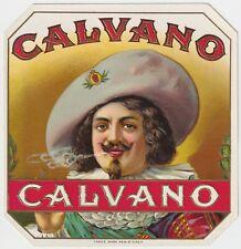 Calvano - Cigar Box Label