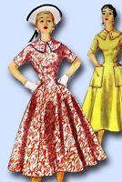 1950s Vintage Simplicity Sewing Pattern 1000 Uncut Misses Princess Dress Size 12