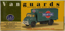 Vanguards by Lledo 1:64 VA6000 Ford Thames Trader Van Martini - Near Mint in Box