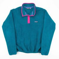 PATAGONIA  Blue Outdoor Round Neck Jumper Womens L