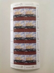 "1999 - Australia - Marine Heritage ""Flying Cloud"" Stamp Sheet (MUH)"