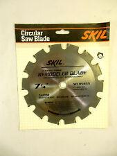 "7-1/4"" 14 Carbide Teeth Circular Saw Blade For Nail Embedded Wood, Skil, New."