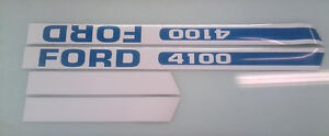 Ford 4100 Hood Decals