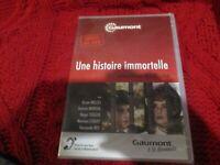 """DVD NEUF """"UNE HISTOIRE IMMORTELLE"""" Orson WELLES, Jeanne MOREAU"""