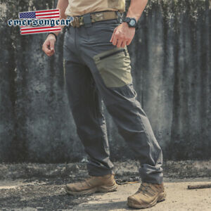 Emerson Mens Tactical Pant Quick Dry Stretch Trousers Combat Cargo Casual Hiking