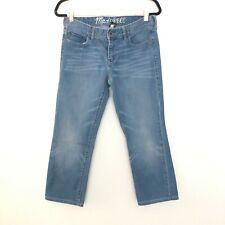Madewell 29x32 Rail Straight Denim Jeans Light Wash
