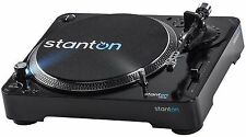 STANTON T.62 M2 DIR. DRIVE TURNTABLE w/ SLIPMAT & DUST COVER Authorized Dealer