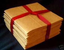 6x6 Sewn Paper Bag Scrapbook Albums 4 Books No Holes