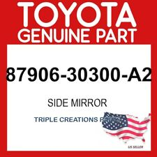 TOYOTA GENUINE 8790630300A2 MIRROR SUB-ASSY, OUTER REAR VIEW, LH 87906-30300-A2
