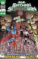 Batman Superman #7 2020 DC Choice of Derington Main or Kubert Variant Cover NM