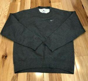Nike NikeLab Washed Crew Heavyweight Crew Sweatshirt CZ5353 071 Men's SMALL