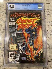 Ghost Rider #28 CGC 9.8 Gatefold Centerfold Andy & Joe Kubert Art