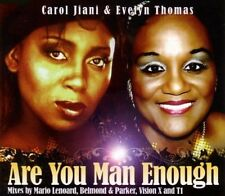 Carol Jiani & Evelyn Thomas Are you man enough (4 mixes) [Maxi-CD]