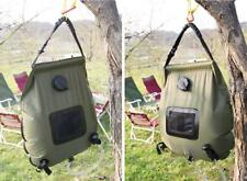 20L Portable Solar Bathing Bag Outdoor Camping Shower Water Bag Travel Hiking