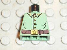 LEGO INDIANA JONES minifig Russian Guard torso ref 973px595 / Set 7625 7626 7628
