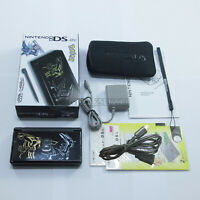 New Pokemon Black Nintendo DS Lite HandHeld Console System For DSL DSi GBA games